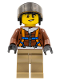 Minifig No: cty0495  Name: Arctic Helicopter Pilot