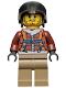Minifig No: cty0498  Name: Arctic Plane Pilot