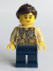 Minifig No: cty0548  Name: Swamp Police - Officer Female, Vest