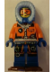 Minifig No: cty0554  Name: Arctic Explorer, Female with Snowshoes