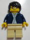 Minifig No: cty0634  Name: Sports Car Driver