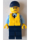 Minifig No: cty0644  Name: Police - City Officer, Life Preserver, Scowl