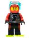 Minifig No: cty0764  Name: Beachgoer - Scuba Diver