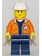 Minifig No: cty0849  Name: Miner - Equipment Operator