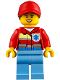 Minifig No: cty0859  Name: Helicopter Medic, Female