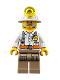 Minifig No: cty0876  Name: Miner - Foreman