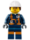 Minifig No: cty0877  Name: Miner - Female Explosives Engineer