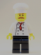 Minifig No: cty0878  Name: Hot Dog Chef