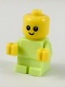 Minifig No: cty0918  Name: Baby - Yellowish Green Body with Yellow Hands