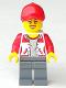 Minifig No: cty0941  Name: Kiosk Attendant