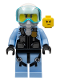 Minifig No: cty0980  Name: Sky Police - Jet Pilot with Oxygen Mask