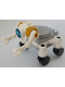 Minifig No: cty1056  Name: City Space Robot, Round Tiles as Wheels, Medium Azure Eyes