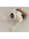 Minifig No: cty1066  Name: City Space Robot, Drone, Medium Azure Eyes