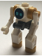 Minifig No: cty1071  Name: City Space Robot, Standing, Medium Azure Eyes