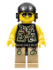 Minifig No: dino004  Name: Hero - Utility Vest