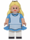 Minifig No: dis007  Name: Alice (in Wonderland) - Minifig only Entry