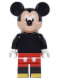 Minifig No: dis012  Name: Mickey Mouse - Minifig only Entry