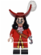 Minifig No: dis016  Name: Captain Hook - Minifig only Entry