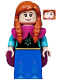 Minifig No: dis033  Name: Anna - Minifigure only Entry