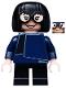 Minifig No: dis040  Name: Edna Mode - Minifigure only Entry