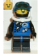 Minifig No: div001  Name: Divers - Blue, Black Helmet