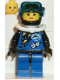 Minifig No: div002  Name: Divers - Blue, Female
