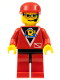 Minifig No: div011  Name: Divers - Control 2, Red Legs with Black Hips, Red Cap