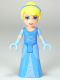 Minifig No: dp008  Name: Cinderella - Two-Colored Dress and Long Gloves