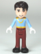 Minifig No: dp009  Name: Prince Charming - Light Blue Top