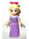 Minifig No: dp010  Name: Rapunzel with 3 Bows (30116)