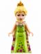 Minifig No: dp018  Name: Elsa - Lime Dress