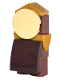 Minifig No: dp029  Name: Cogsworth without Stickers (41067)