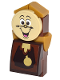 Minifig No: dp029s  Name: Cogsworth with Stickers (41067)