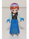 Minifig No: dp036  Name: Anna - Ice Skates, No Cape