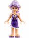 Minifig No: elf015  Name: Aira Windwhistler, Dark Purple (41176)