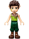 Minifig No: elf035  Name: Farran Leafshade, Dark Green Trousers, High Boots (41185)