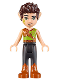 Minifig No: elf053  Name: Farran Leafshade, Dark Orange Boots
