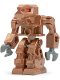 Minifig No: exf008  Name: Iron Drone (Devastator) - Red Eyes