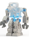 Minifig No: exf010  Name: Devastator - Trans-Medium Blue Torso