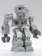 Minifig No: exf015  Name: Devastator - Pearl Light Gray Torso, Red Eyes