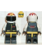 Minifig No: ext012  Name: Extreme Team - White, White Flame Helmet