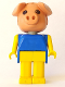 Minifig No: fab11a  Name: Fabuland Figure Pig 1