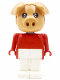 Minifig No: fab11d  Name: Fabuland Figure Pig 4