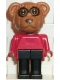 Minifig No: fab12a  Name: Fabuland Figure Raccoon 1