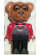Minifig No: fab12b  Name: Fabuland Figure Raccoon 2