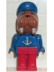Minifig No: fab12g  Name: Fabuland Figure Walrus 3 - Anchor Pattern