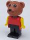 Minifig No: fab1c  Name: Fabuland Figure Bear 2
