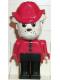 Minifig No: fab2i  Name: Fabuland Figure Bulldog 9 with Fire Helmet