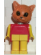 Minifig No: fab3f  Name: Fabuland Figure Cat 2