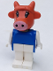 Minifig No: fab4a  Name: Fabuland Figure Cow